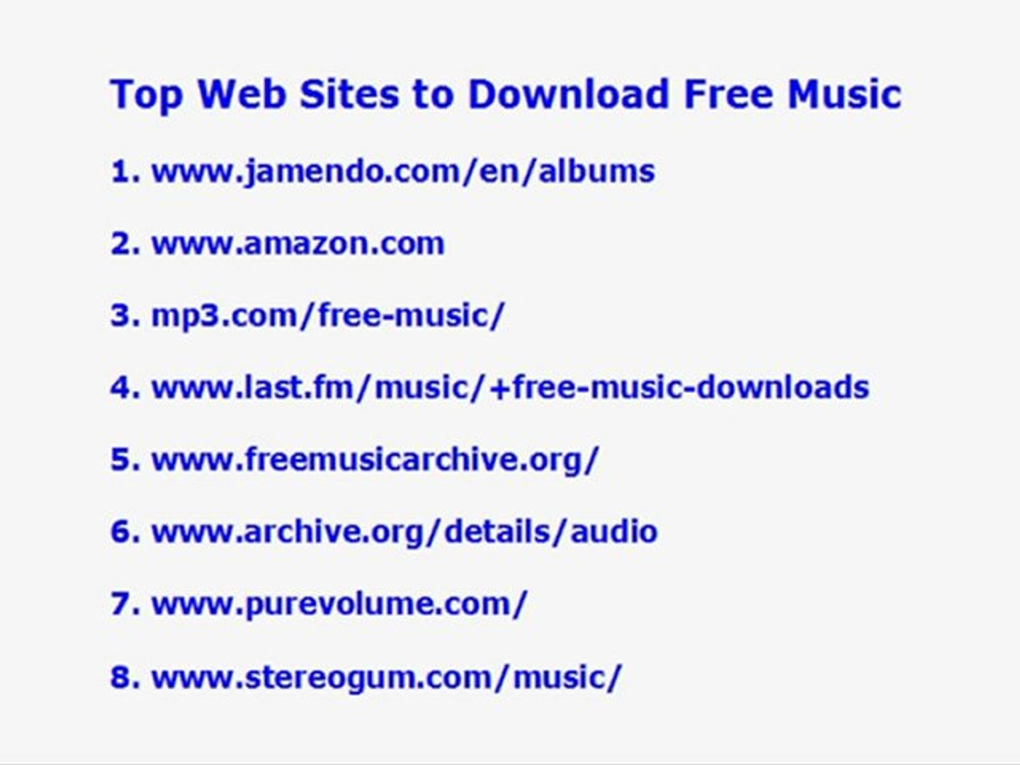 Free Music to Download and Gain knowledge of Tips on how to Locate the Greatest Absolutely Free Musi