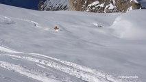 Snow Report Mont-Blanc 03-01-2012 Chamonix Aiguille du Midi Petit Envers du Plan