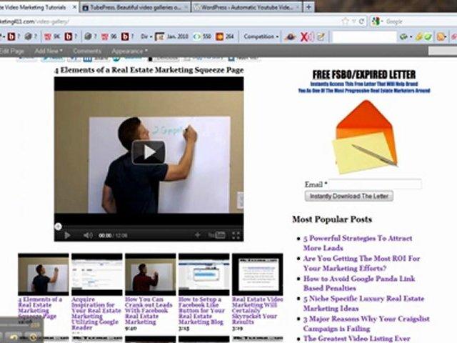 2 Powerful WordPress Plugins for Real Estate Marketing Videos