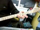 Dut gitar burgulu kısa sap