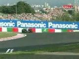 Japan 2005 Kimi Räikkönen vs Giancarlo Fisichella