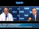 """Claude Guéant, invité de Jean-Pierre Elkabbach dans l'émission """"l'Interview de 8h20"""" sur Europe 1"""