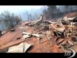 Cile, bruciano 40mila ettari di terreno: 58 incendi nel Sud. Presidente Pinera: venti roghi sono ancora attivi, morto un uomo