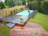 Lens, Hénin Beaumont, Construction entretien de piscines - Piscine et Jardin - Vente produits spa jacuzzi, sauna, hammam Pas de Calais 62