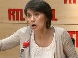 """Nathalie Arthaud, porte-parole de Lutte Ouvrière, candidate de l'élection présidentielle : """"Ce sont les parasites que l'on bichonne dans notre société !"""""""