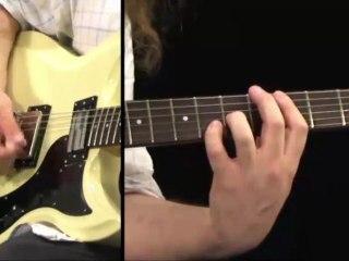 Cours de guitare électrique Rock années 80