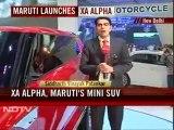 Auto Expo: SUVs in focus, Maruti launches mini-SUV