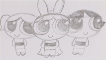 How To Sketch Powerpuff Girls