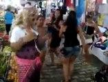 Pazar yerinde göbek dansı - roman dansı  (emere1616)