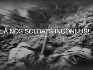 Á Nos Soldats Inconnus! - Débat  Part 2/2