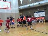 Basket-Ball Winter League - Premier match d'Adrien avec les Cougars - 6 janvier 2012