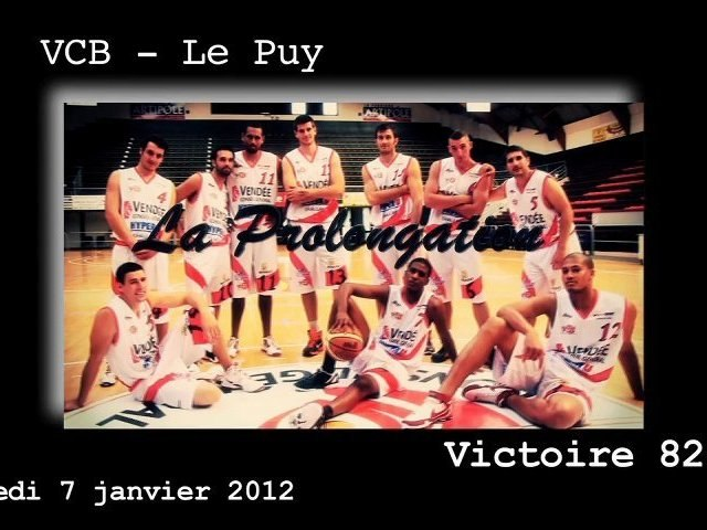 La Prolongation de VCB - Le Puy 7.01.2012