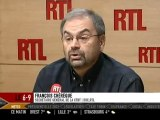 """Chérèque a """"honte des militants"""" de la CFDT Sea France"""