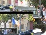 Défilé de la libération de la ville de Miramas, 13 Bouches du Rhône, 22 Août 2010