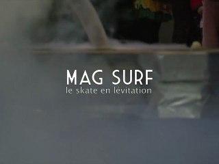 Mag Surf, le skate « volant » supraconducteur