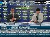 Olivier Delamarche - Les chiffres américains sont un gag - BFM Business - 10/01/2012