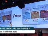 Xavier Niel (Free) tape sur SFR, Orange et Bouygues Telecom
