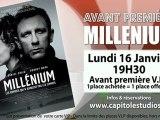 Avant-première Millenium au Capitole Studios Le Pontet