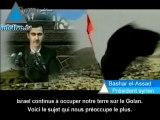 """Assad : """"Nous reprendrons le Golan par tous les moyens !"""""""