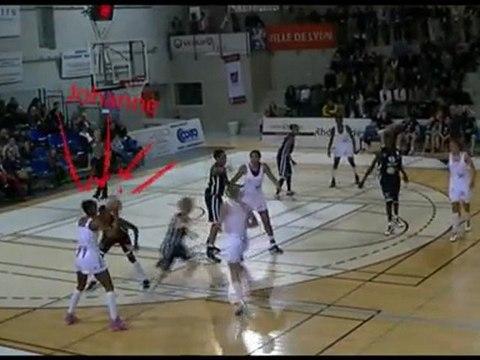 le CSC de Johanne Gomis - http://www.nantes-reze-basket.com