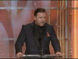 """Ricky Gervais: """"More of the same at Globes"""""""