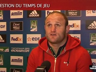 Stade-Connacht : Interview de William Servat