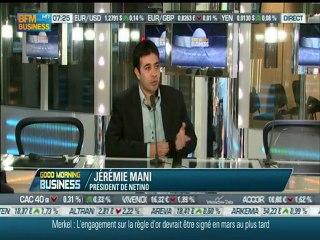 Jeremie Mani, Netino, chez Stephane Soumier (BFM Business)