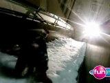 Course de luge au City Ski - Mikl à la radio