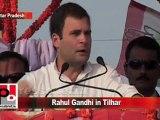 Congress Leader Rahul Gandhi in Tilhar (U.P) Part 4