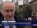 Jacques Cheminade à Chalons-en-Champagne, sur France3 Champagne-Ardenne