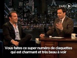 Jean dujardin fait le chameau et de niro dans le talk show for Dujardin qui imite de niro
