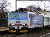 Lokomotiva 363 024-1 - Ústí nad Orlicí město, 12.1.2012 HD