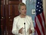 Hillary Clinton condamne la vidéo des Marine
