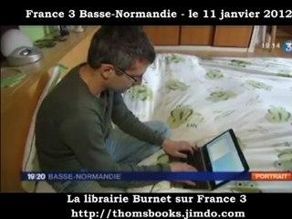 Le reportage sur la Librairie Burnet