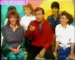 Kylie Minogue & Dannii Minogue interview young talent time 1985