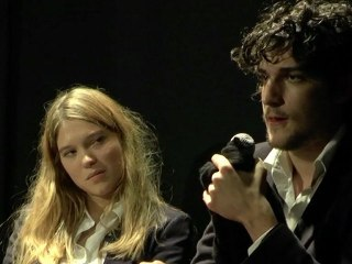 MyFrenchFilmFestival - Physical Preview - London withLouis Garrel, Léa Seydoux and Rebecca Zlotowski