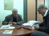 ELYSEE 2012, la vraie campagne- film 5 - Alain Krivine et Philippe Poutou, candidat du NPA, préparent leurs voeux