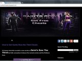 Saints Row The Third Cheats Get access to all cars