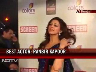Vidya, Ranbir win best actor at Screen Awards