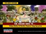 Shahrukh Khan and Priyanka Chopra - Best Jodi Awards - Star Screen Awards 2012