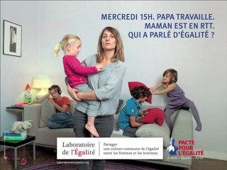 Campagne d'affichage du Laboratoire de l'égalité