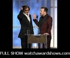 Johnny Depp was a target of host Ricky Gervais 69th Golden Globe Awards 2012