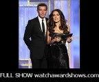 Antonio Banderas and Salma Hayek 69th Golden Globe Awards 2012