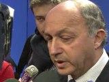 """Hollande et Concordia: Fabius dénonce une """"mauvaise saillie"""""""