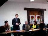 Aulnay-sous-Bois : discours Daniel Goldberg 10é circonscription législatives 2012 16/01