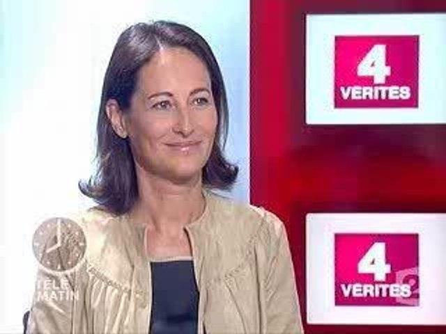 Segolene Royal - 4 Verites - France 2