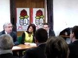 Aulnay-sous-Bois : discours Gérard Ségura pour l'investiture de Daniel Goldberg 16.01.2012