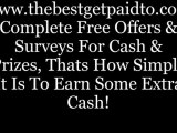 Get Paid To Do Simple Jobs; Get Paid To Do Surveys