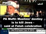 """""""Tuer les juifs est un devoir religieux"""" selon le Mufti de l'Autorité Palestinienne"""