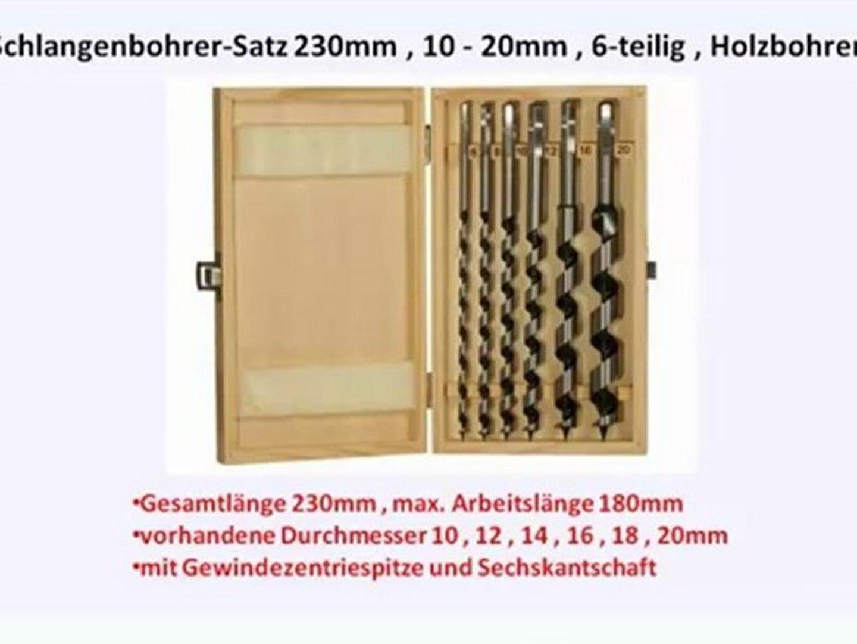 Holzbohrer 13-tlg. Zentrumbohrer-Satz